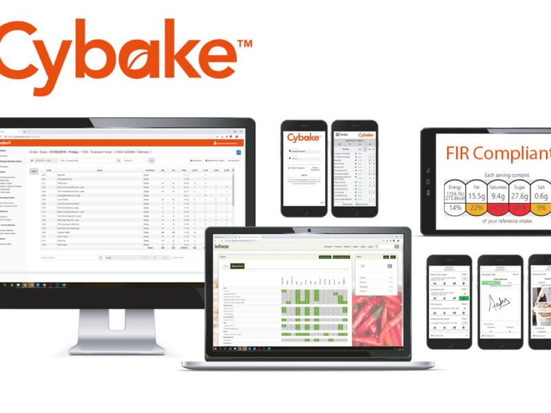 Shows Cybake bakery software family